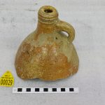 Ceramic jug neck with handle recovered from the Dutch ship Rooswijk which was wrecked on the Goodwin Sands in Kent in 1740. (c) Historic England/RCE